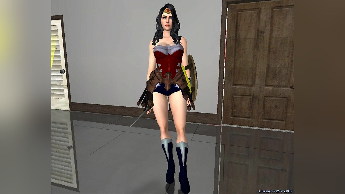 Новый персонаж Wonder Woman [Marcelievsky Version] для GTA San Andreas