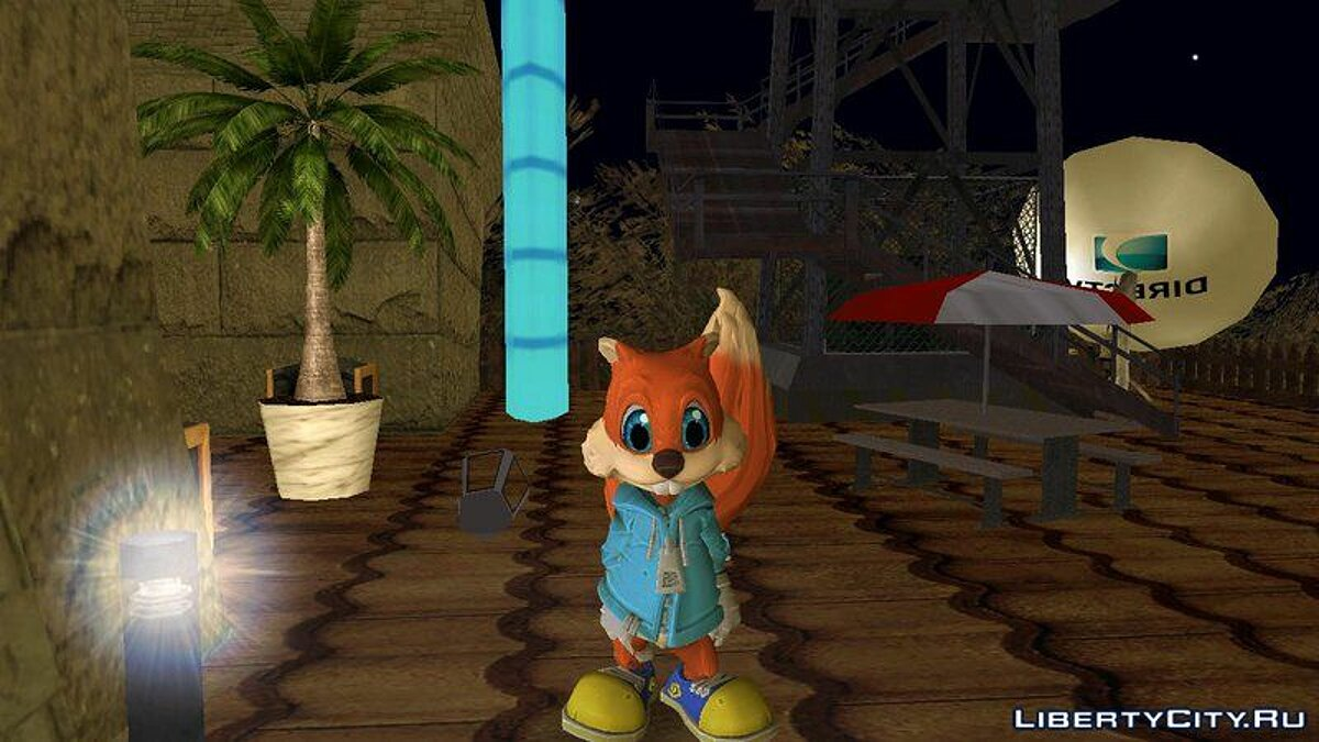 Conker from Project Spark для GTA San Andreas
