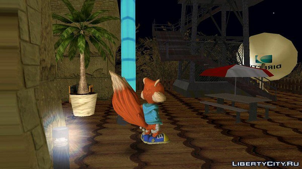 Conker from Project Spark для GTA San Andreas - скриншот #2