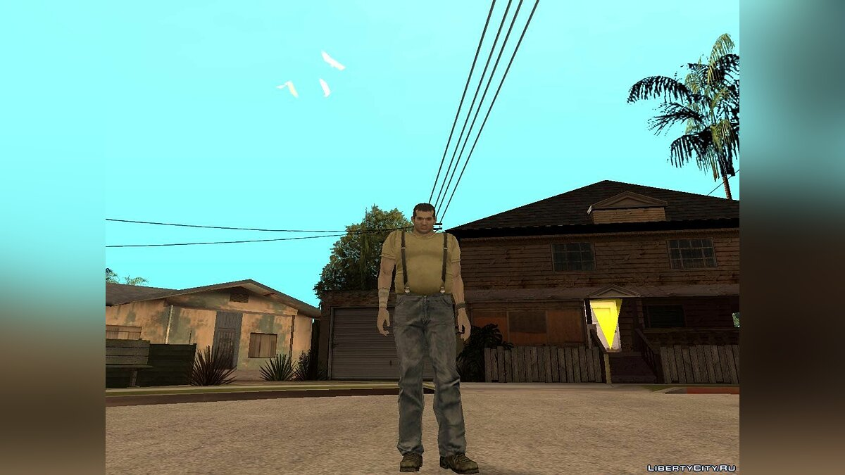 Кендо из resident evil: the darkside chronicles. для GTA San Andreas