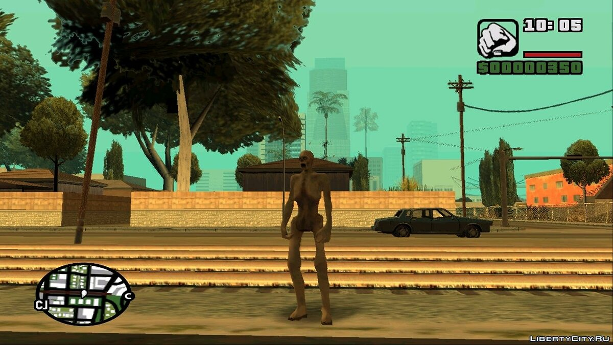 SCP 096 For GTA San Andreas для GTA San Andreas