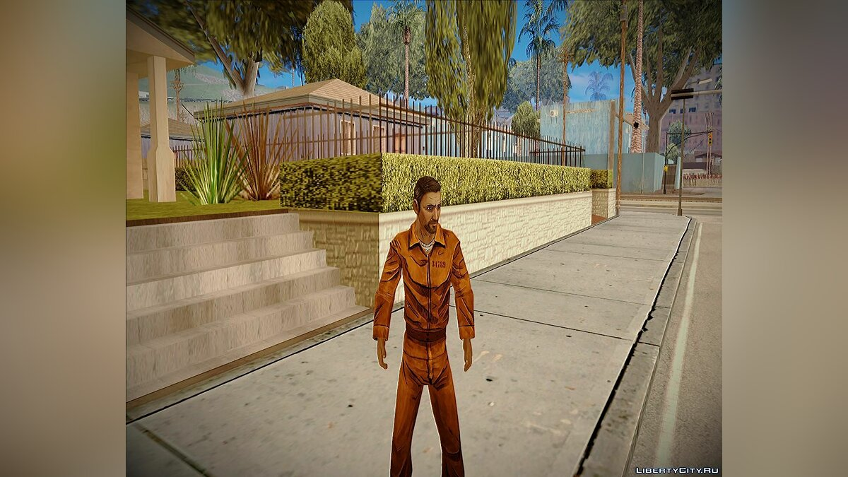 Danny from The Walking dead 400 days для GTA San Andreas - скриншот #2