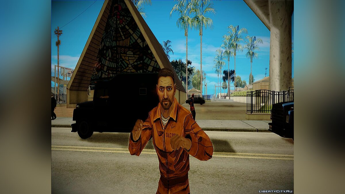 Danny from The Walking dead 400 days для GTA San Andreas - скриншот #3