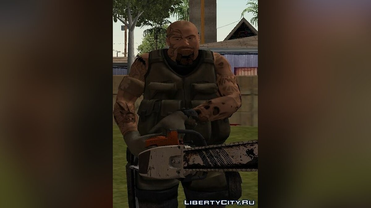 Harley from Resident Evil для GTA San Andreas