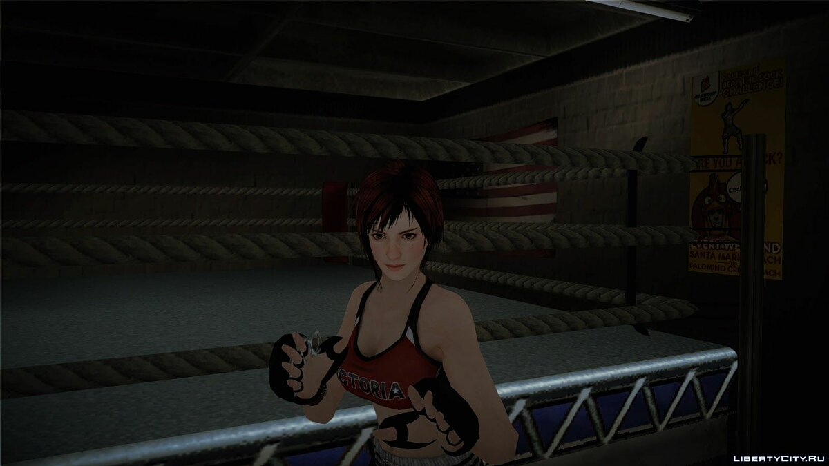 Mila MMA fighter из Dead od Alive 5 для GTA San Andreas