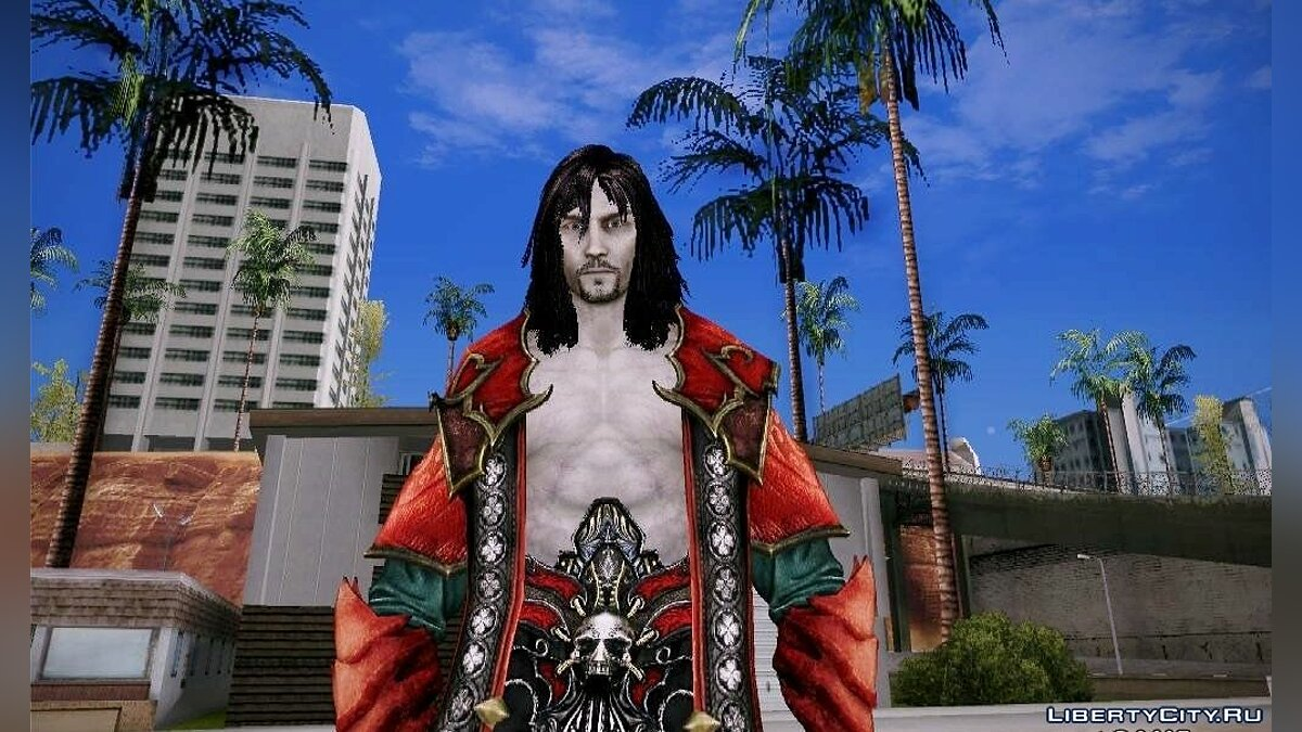 Dracula From Castlevania Lord of Shadows 2 для GTA San Andreas