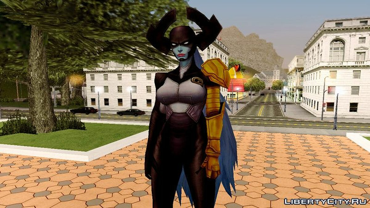 Marvel Future Fight - Proxima Midnight для GTA San Andreas