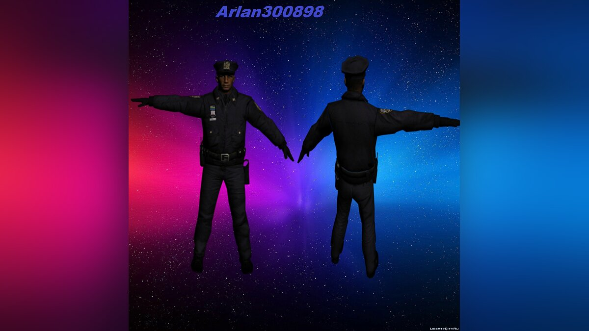 Policeman from Alone in the Dark 5 для GTA San Andreas