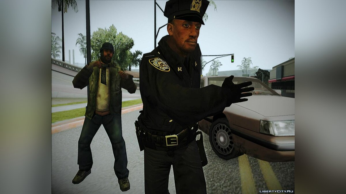 Policeman from Alone in the Dark 5 для GTA San Andreas - скриншот #2