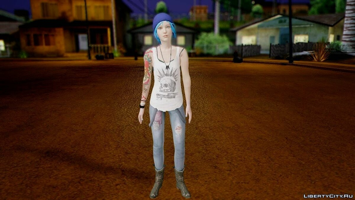 Life is Strange Chloe для GTA San Andreas