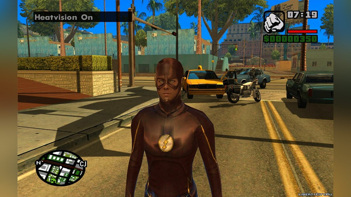 Skins Pack The Flash CW для GTA San Andreas - скриншот #2