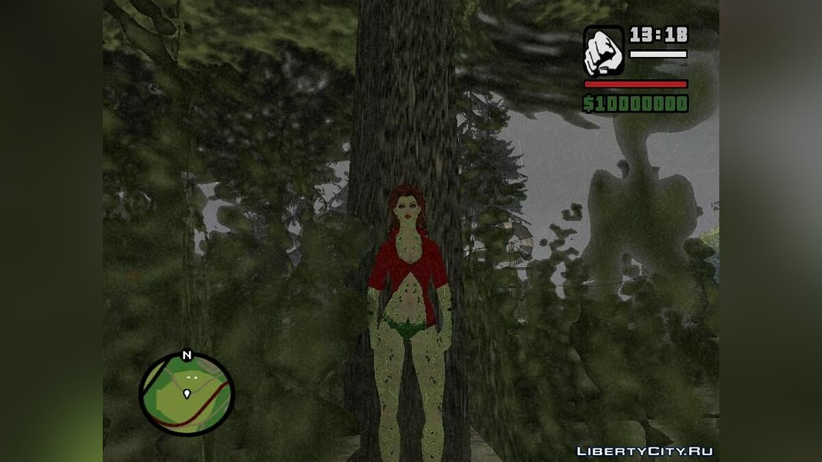 Batman Poison Ivy для GTA San Andreas - скриншот #4