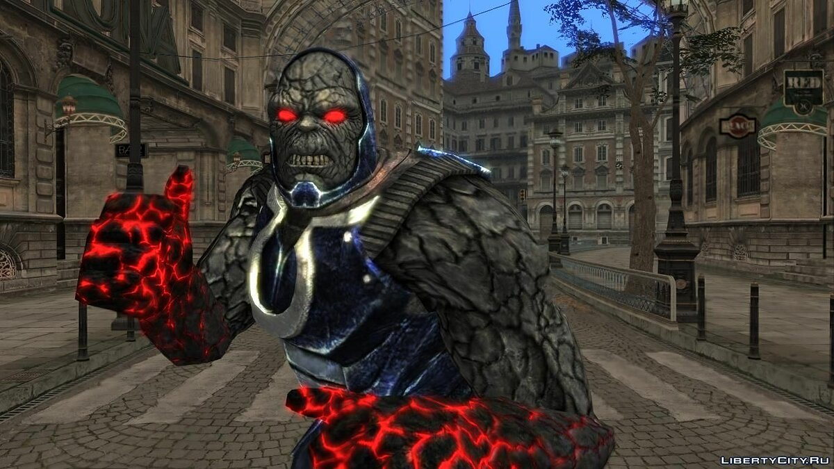 Новый персонаж Darkseid (Injustice: Gods Among Us) для GTA San Andreas