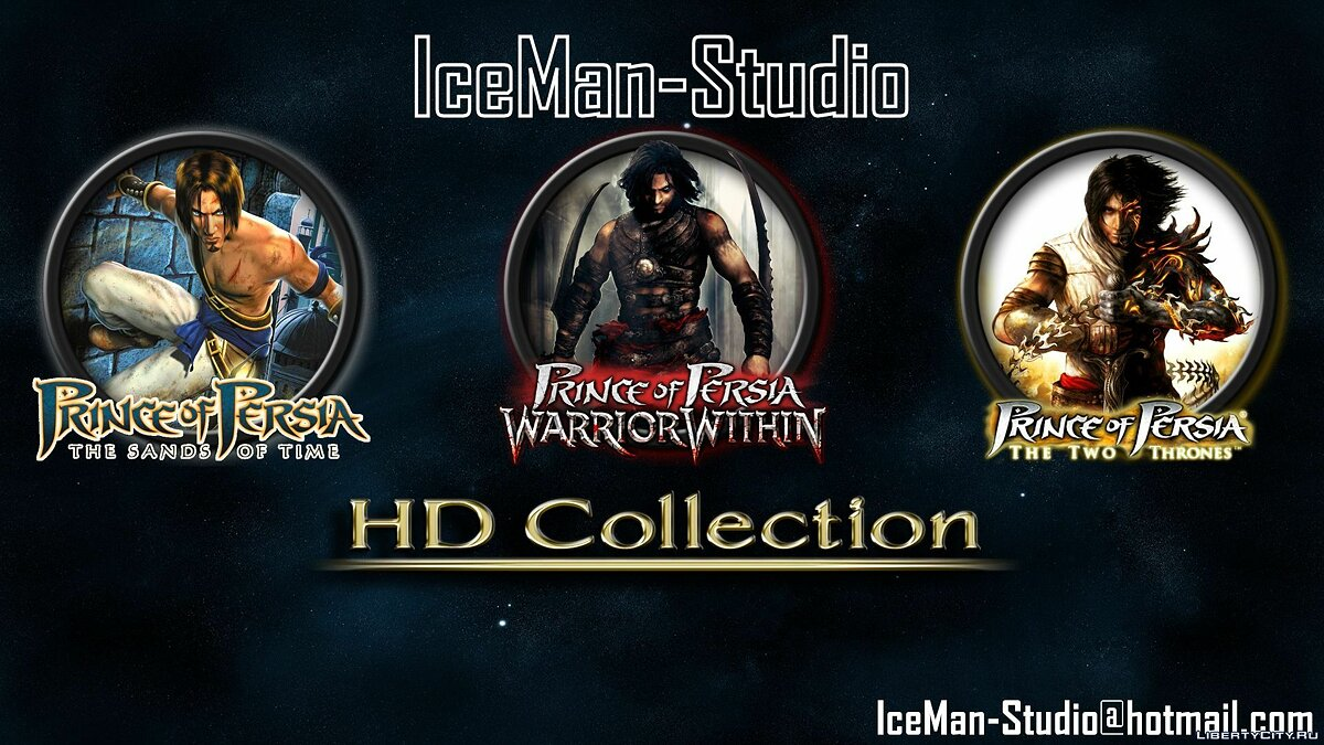 Prince Of Persia TRILOGY (HD) Skins Pack для GTA San Andreas