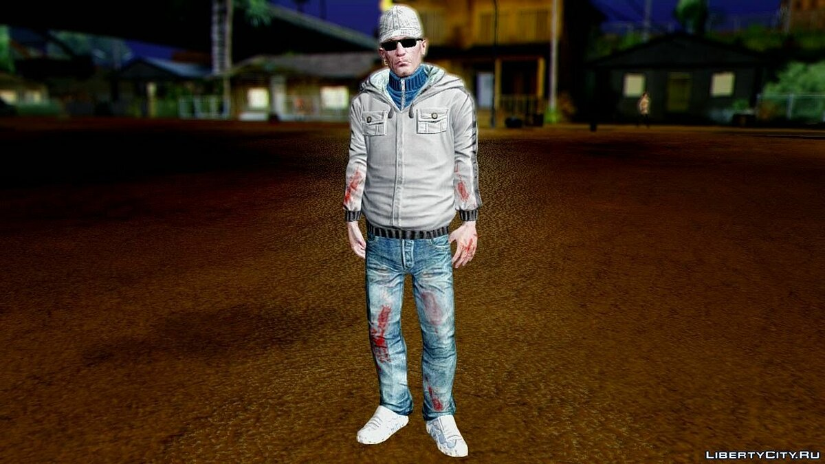 CrimeCraft Londeners Gang Soldier (Updated Version) для GTA San Andreas
