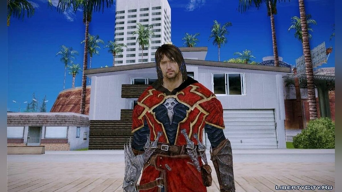 Gabriel Belmont From Castlevania Lord of Shadow для GTA San Andreas