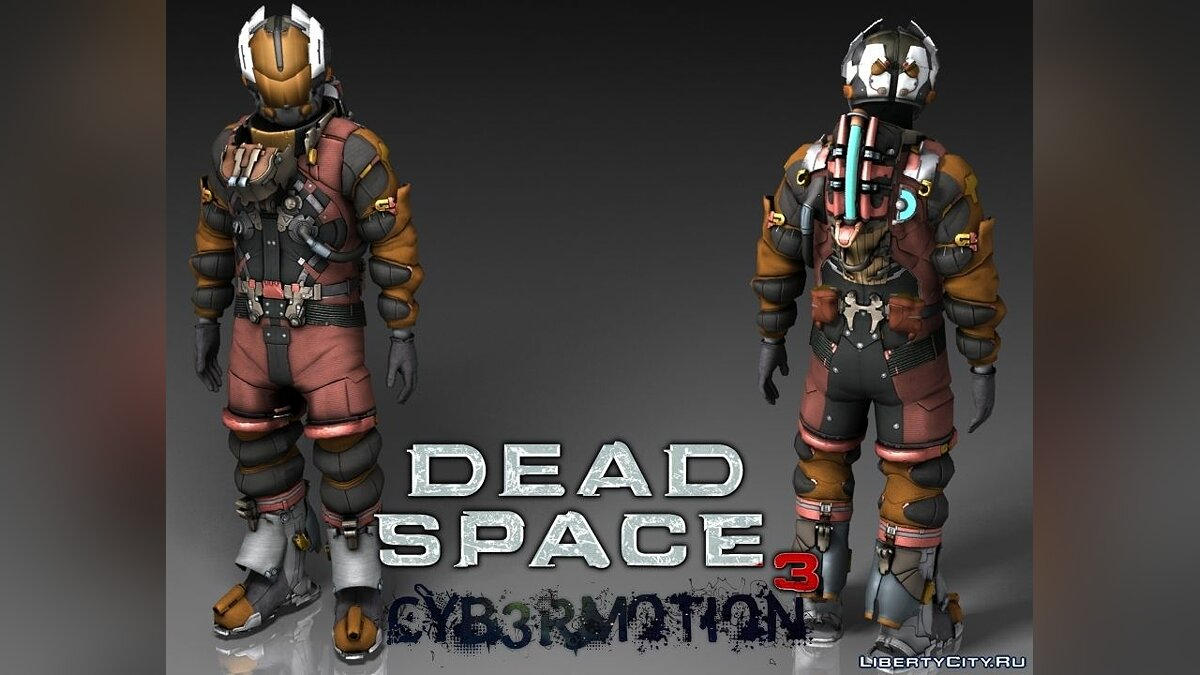 [DeadSpace3] Isaac Clark in E.V.A Suit для GTA San Andreas