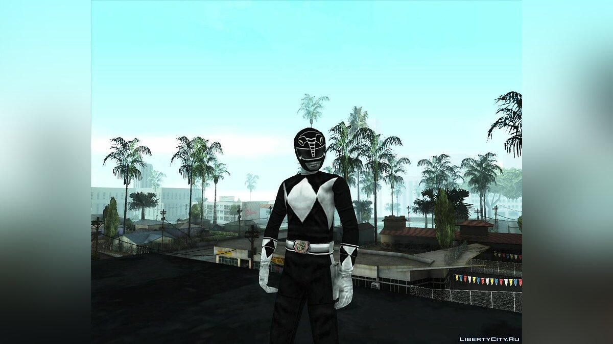 Power Rangers 20 Legends Skins Pack для GTA San Andreas - скриншот #3