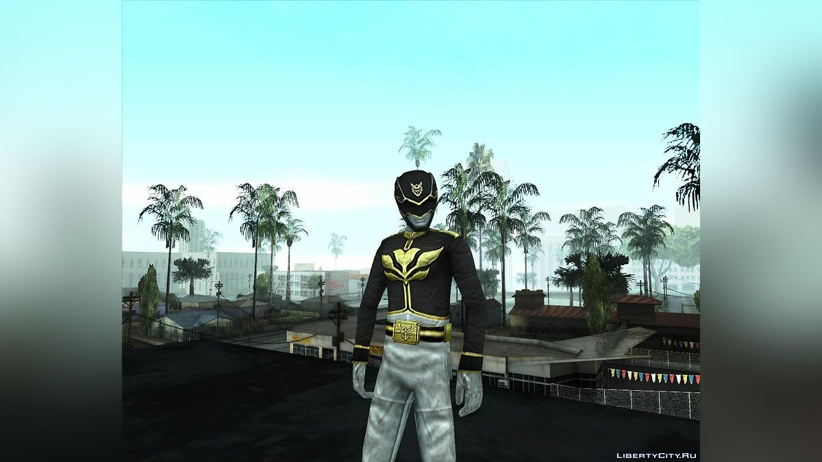 Power Rangers 20 Legends Skins Pack для GTA San Andreas - скриншот #2