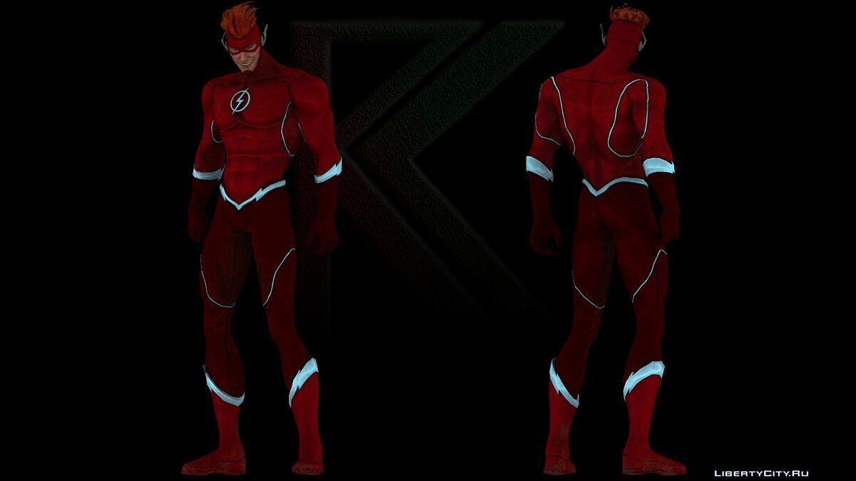 Injustice Gods Among Us: Wally West для GTA San Andreas