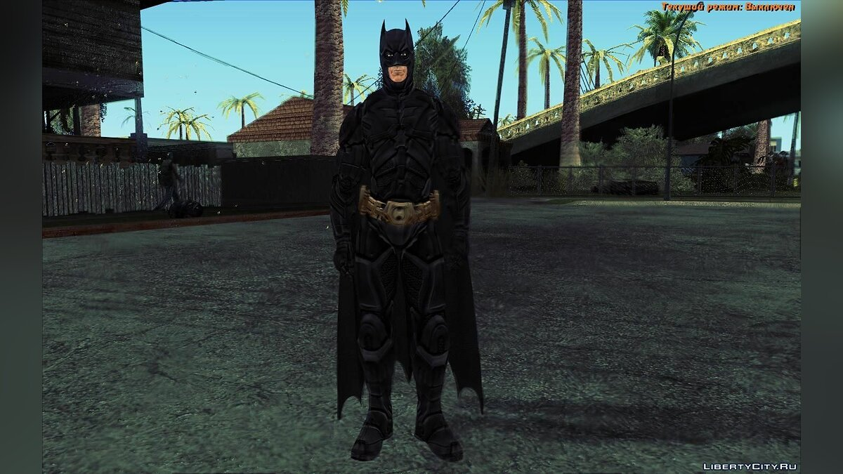 The Dark Knight [Ped] для GTA San Andreas - скриншот #3