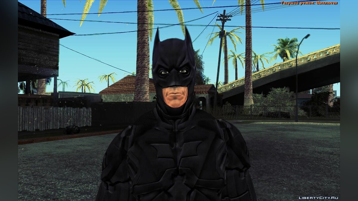 The Dark Knight [Ped] для GTA San Andreas - скриншот #5