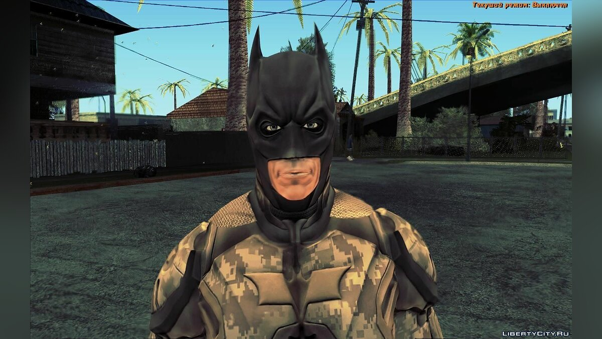 The Dark Knight [Ped] для GTA San Andreas - скриншот #4