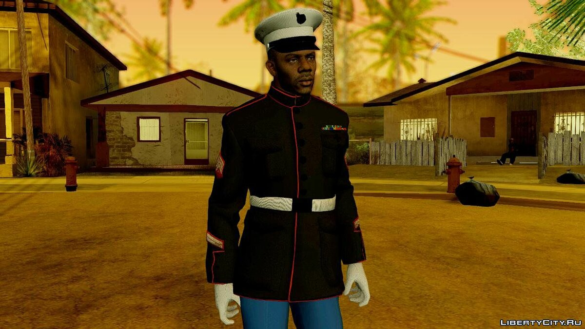 COD AW Cormack Marine Dress Uniform для GTA San Andreas