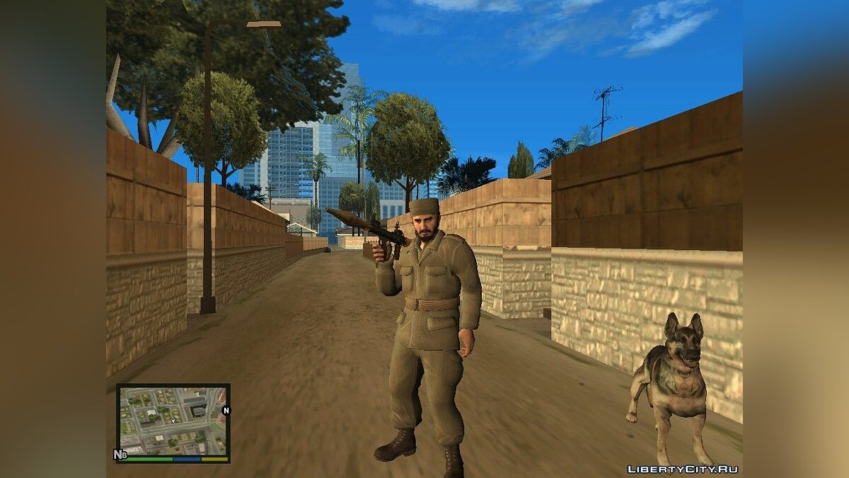 Персонажи из Call of Duty Black Ops для GTA San Andreas