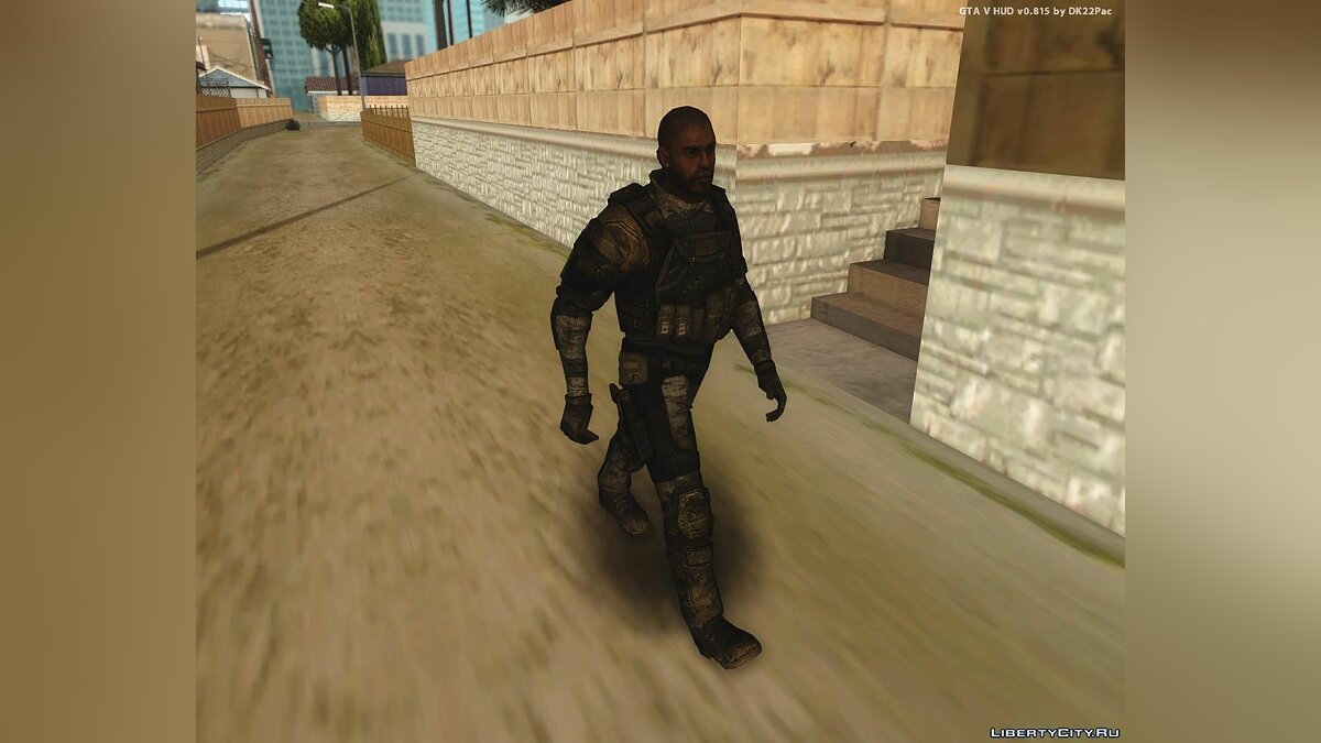 Soldier from HomeFront для GTA San Andreas - скриншот #4