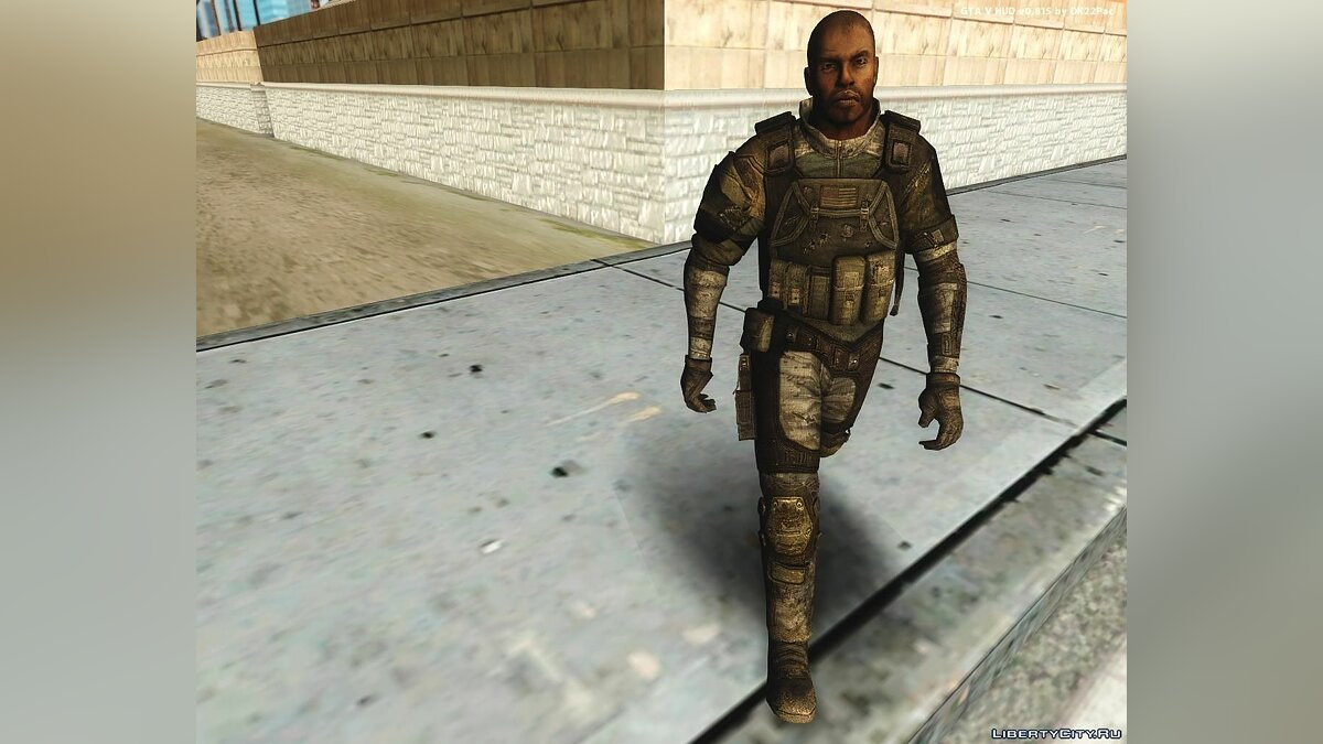 Soldier from HomeFront для GTA San Andreas - скриншот #5