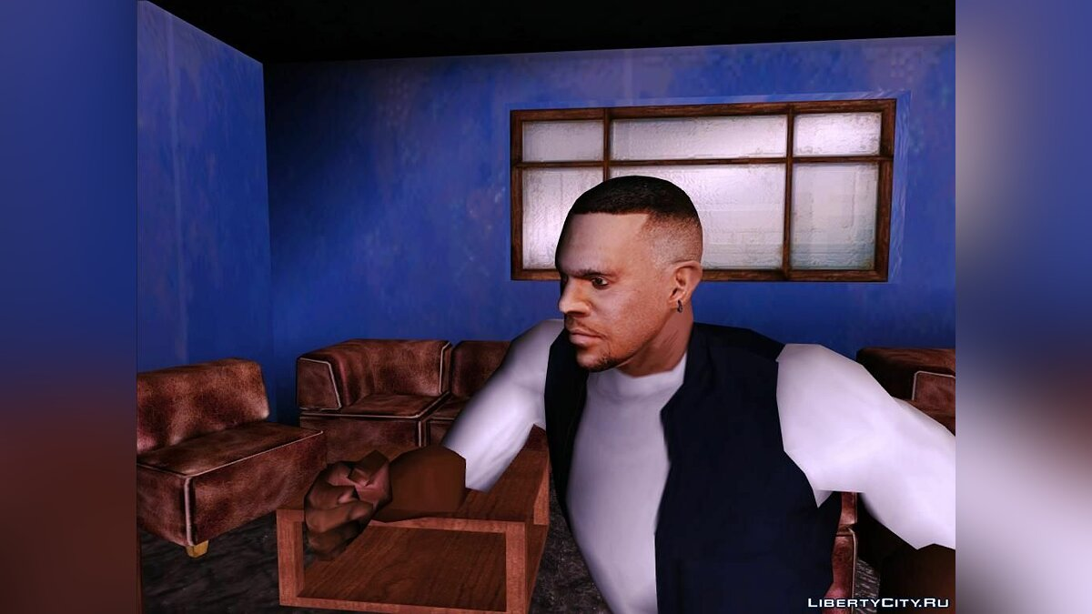 Luis with normal head для GTA San Andreas - скриншот #3
