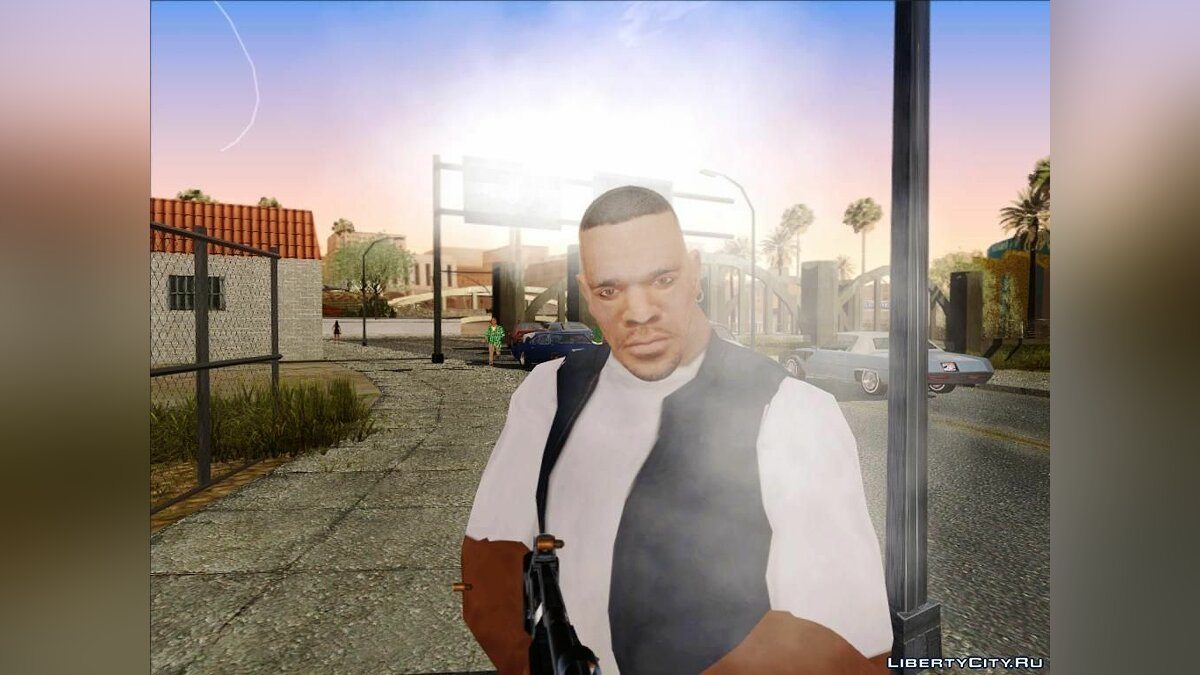 Luis with normal head для GTA San Andreas - скриншот #4