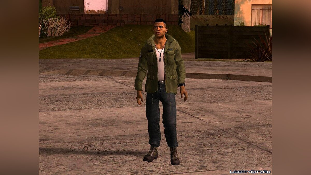 Lincoln Clay from Mafia 3 для GTA San Andreas