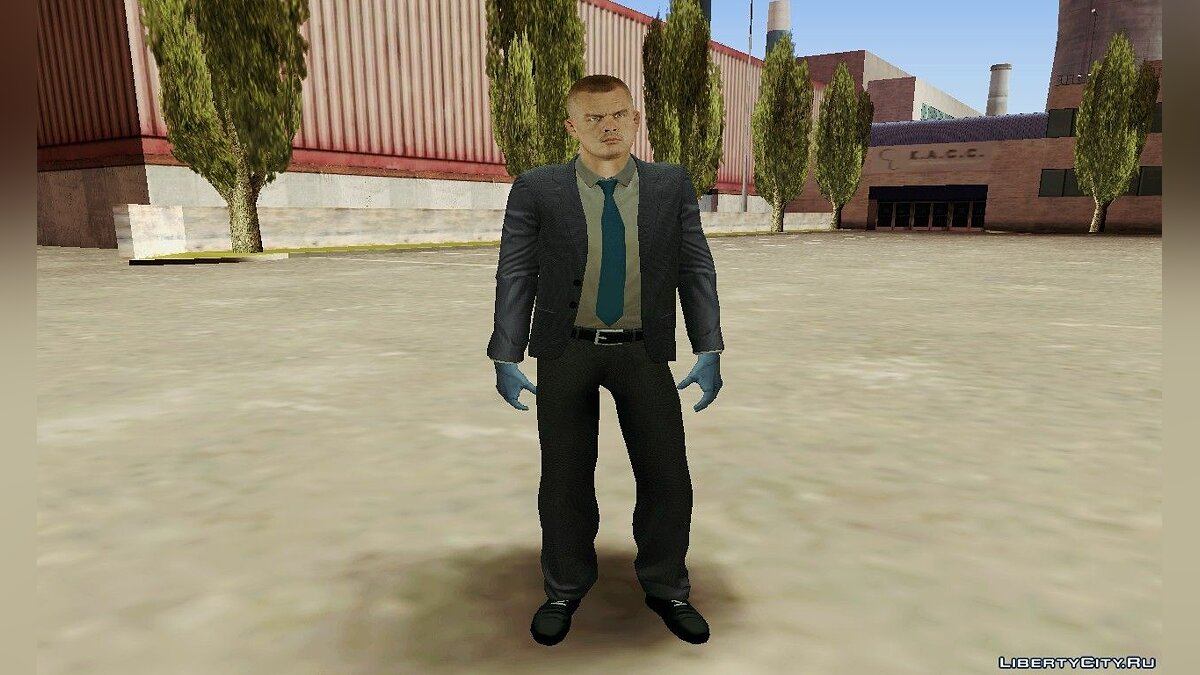Hoxton From Pay Day 2 для GTA San Andreas - скриншот #5