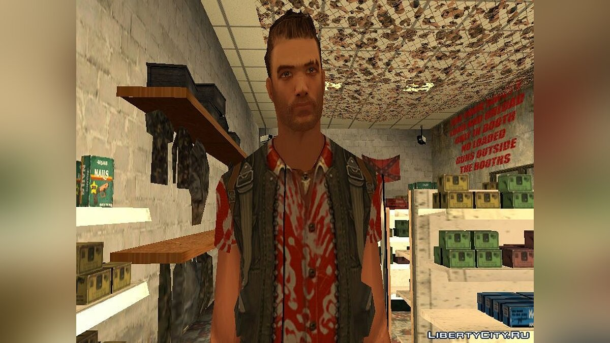 ��овый персонаж Jack Carver (Far Cry) для GTA San Andreas