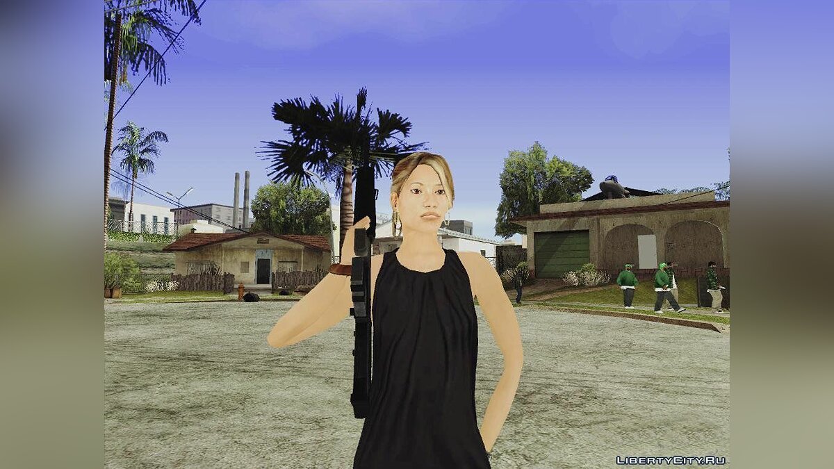 Latino Female для GTA San Andreas