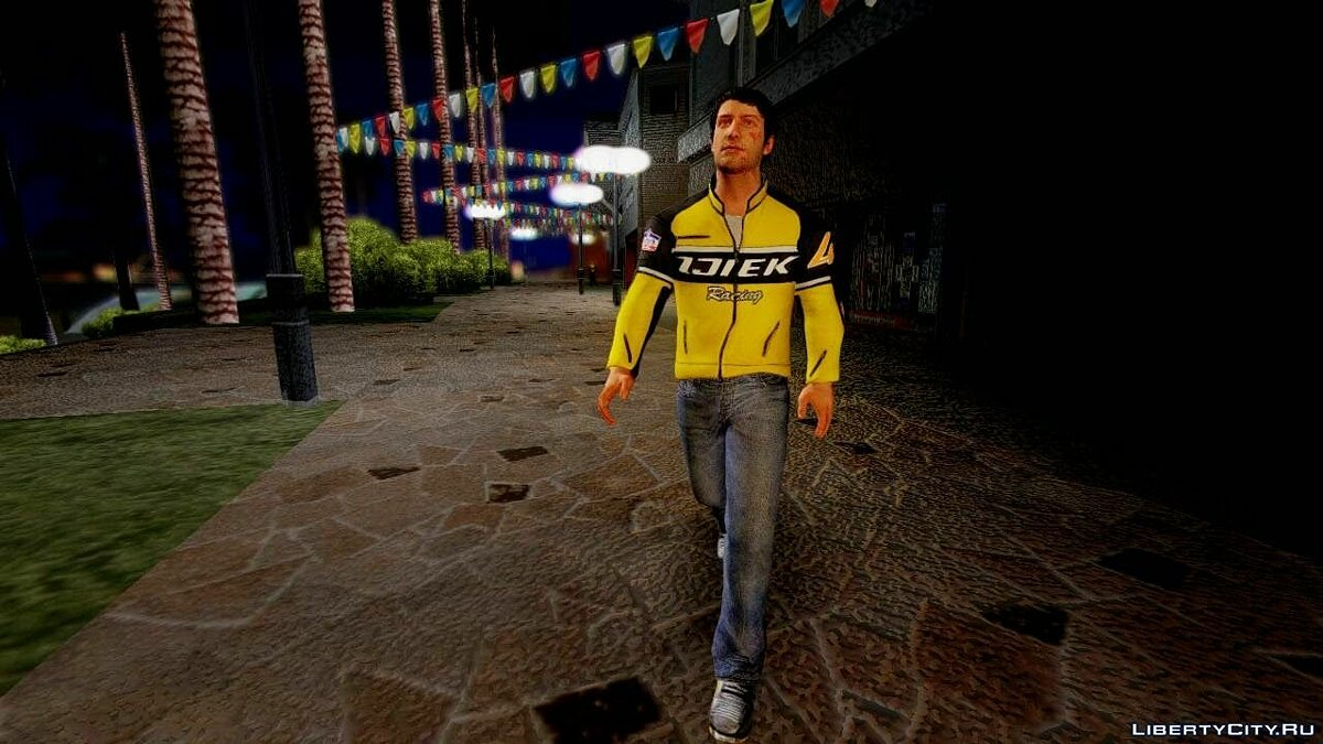 Dead Rising 3 Nick Ramos on Chuck's Outfit для GTA San Andreas