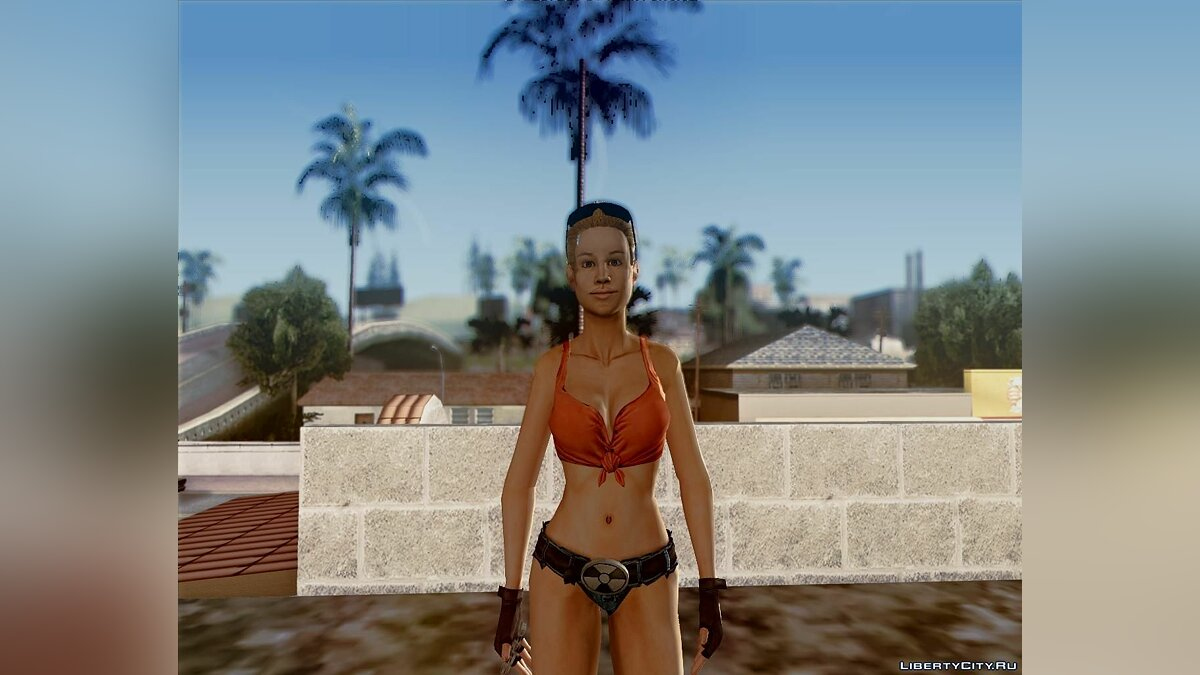 The girl of Duke Nukem для GTA San Andreas - скриншот #2