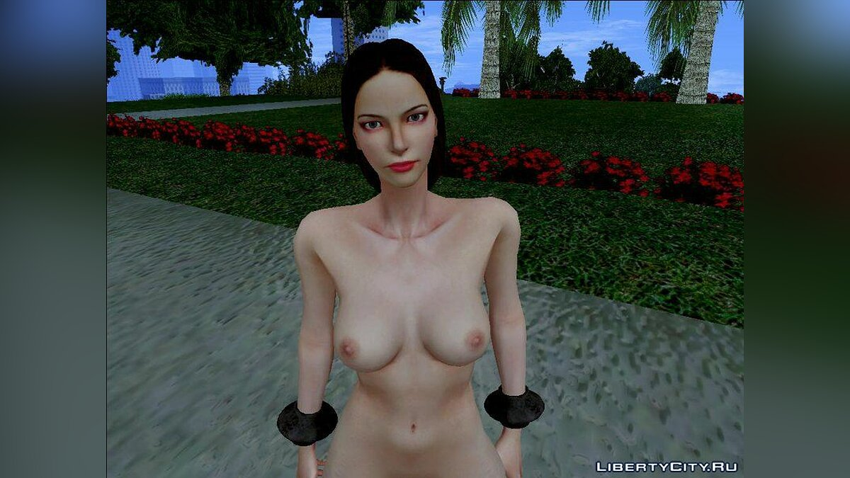 Aphrodite Nude v1.0 From God of War III для GTA San Andreas