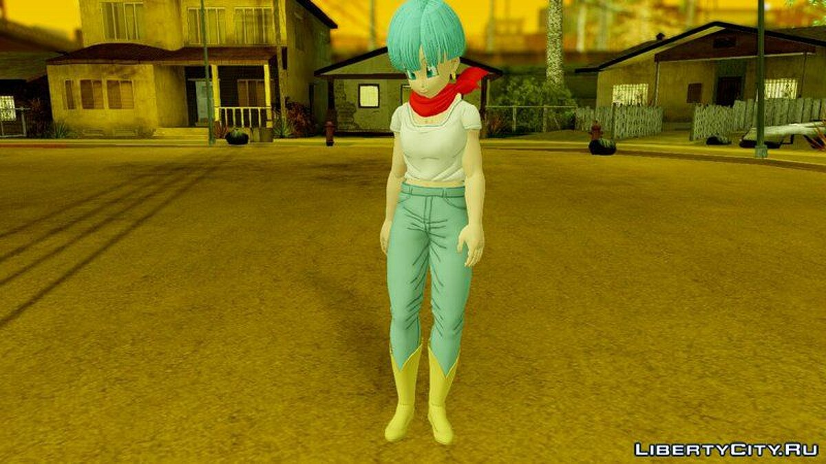 Dragon Ball Xenoverse 2 Bulma DBS v2 для GTA San Andreas
