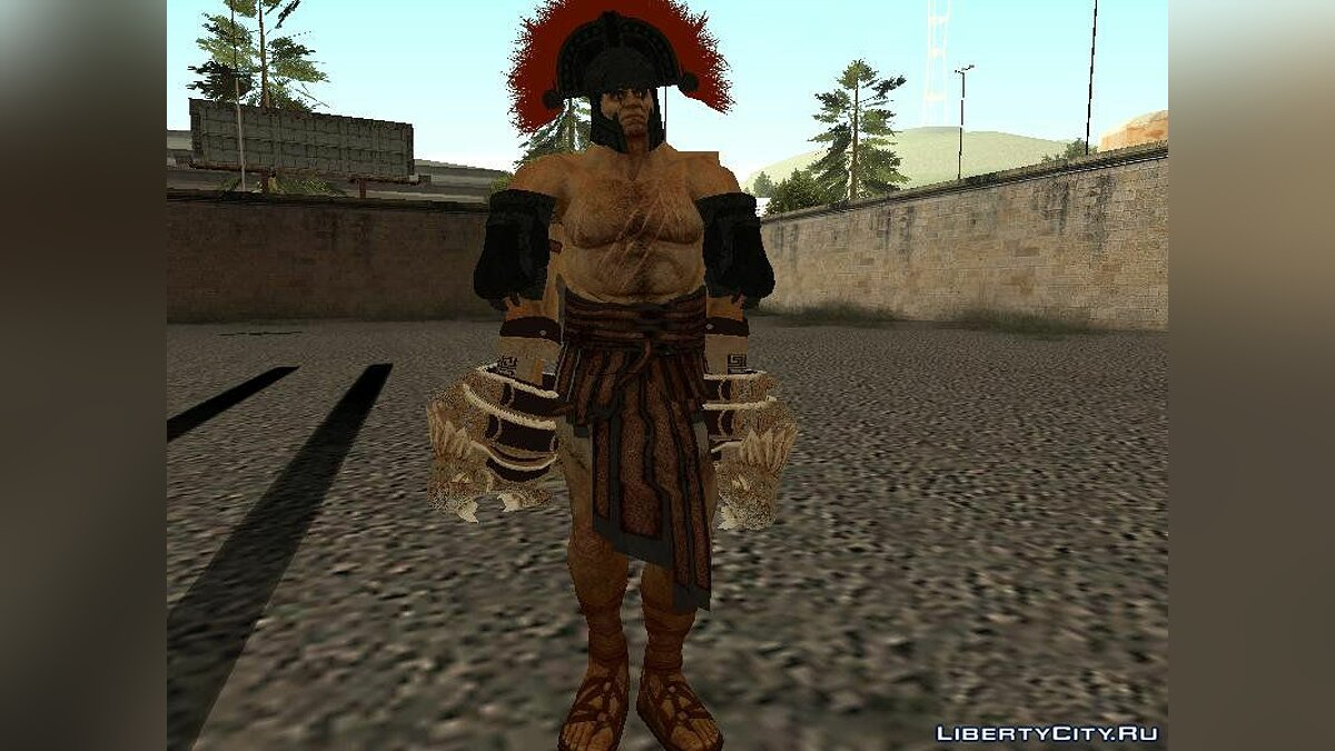 Hercules from God of War 3 для GTA San Andreas