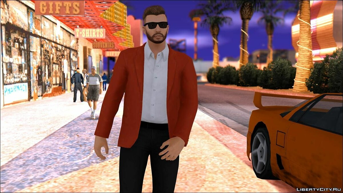 Business casual ped || By: StogZ для GTA San Andreas - скриншот #2