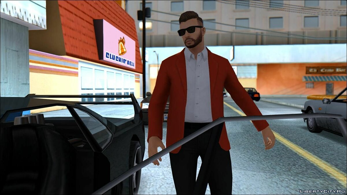 Business casual ped || By: StogZ для GTA San Andreas - скриншот #3
