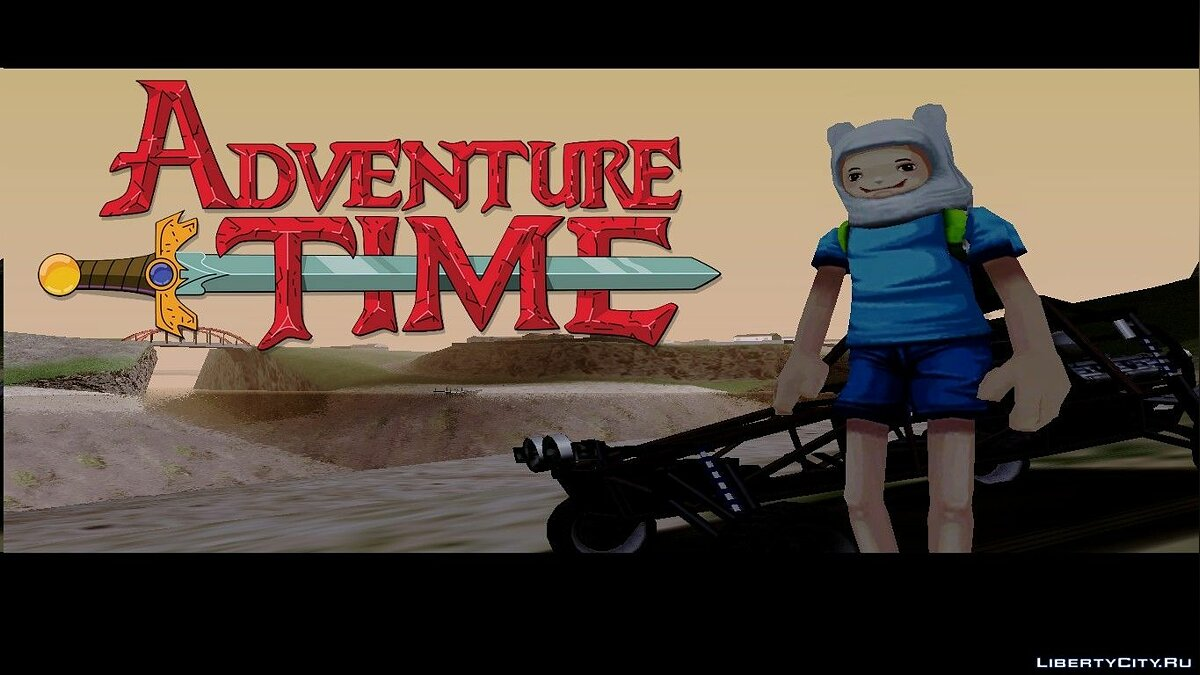 Adventure time [Finn] для GTA San Andreas