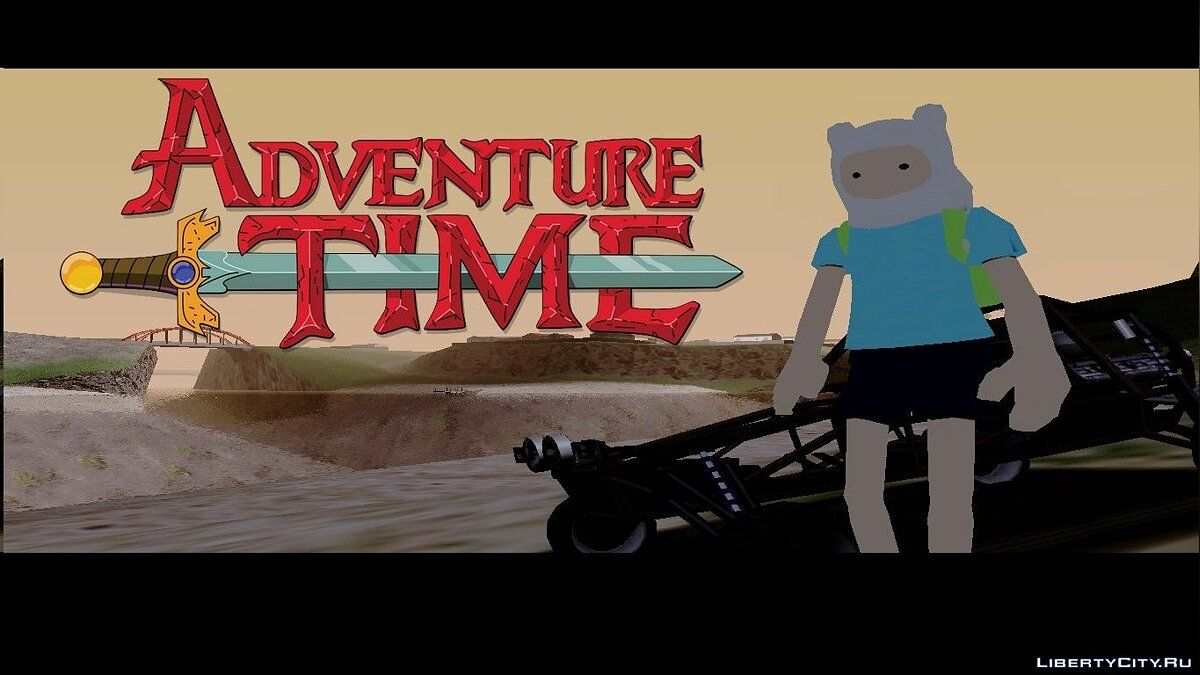 Adventure time [Finn] для GTA San Andreas - скриншот #2