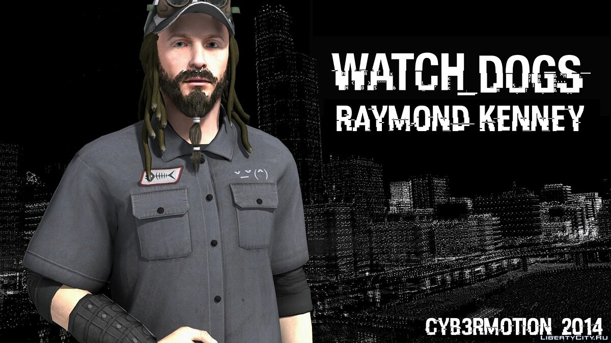 [Watch_Dogs] Raymond Kenney для GTA San Andreas