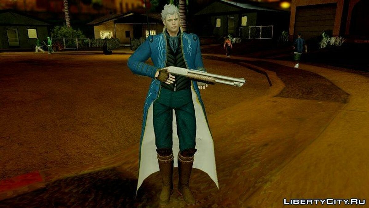 Devil May Cry 4 Vergil Special Edition для GTA San Andreas