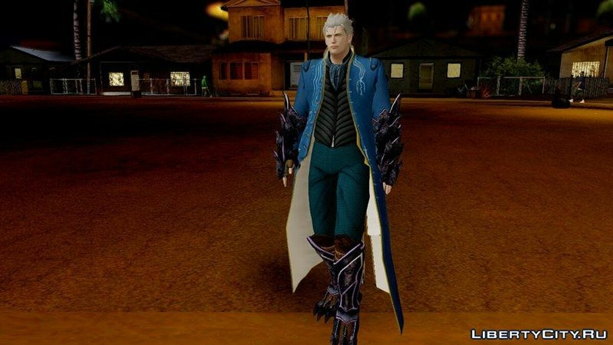 Devil May Cry 4 Vergil Special Edition для GTA San Andreas - скриншот #2