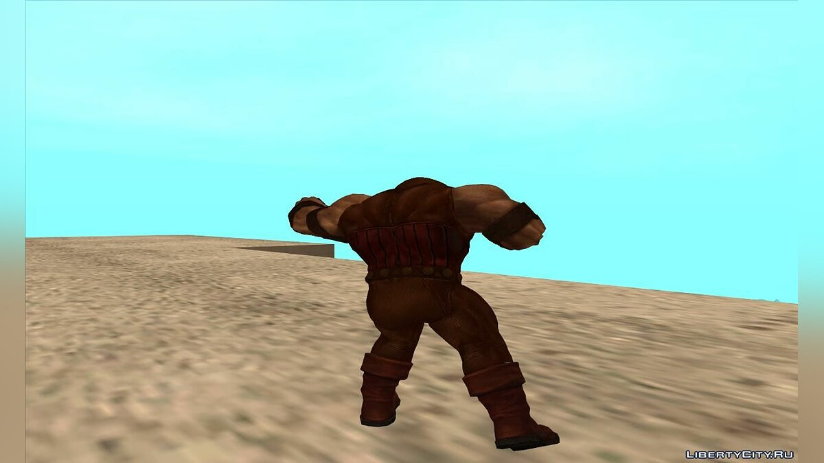 Новый персонаж Juggernaut (MARVEL: Future Fight) для GTA San Andreas
